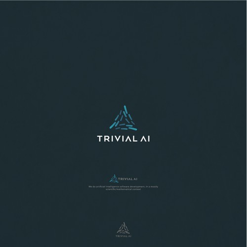 Logo for trivial ai