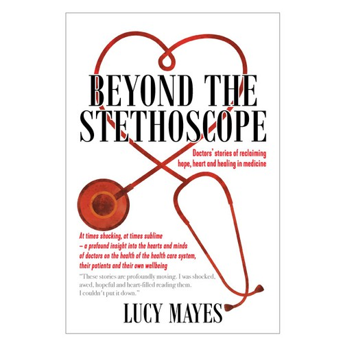 Beyond the Stethoscope book cover design
