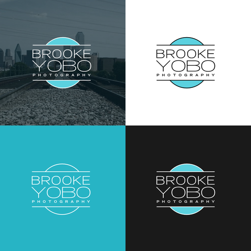 Modern logo for a phothgraphy startup