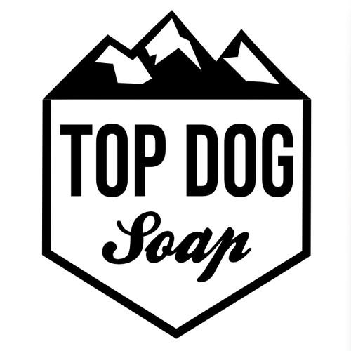 Logo design for Top Dog Soap