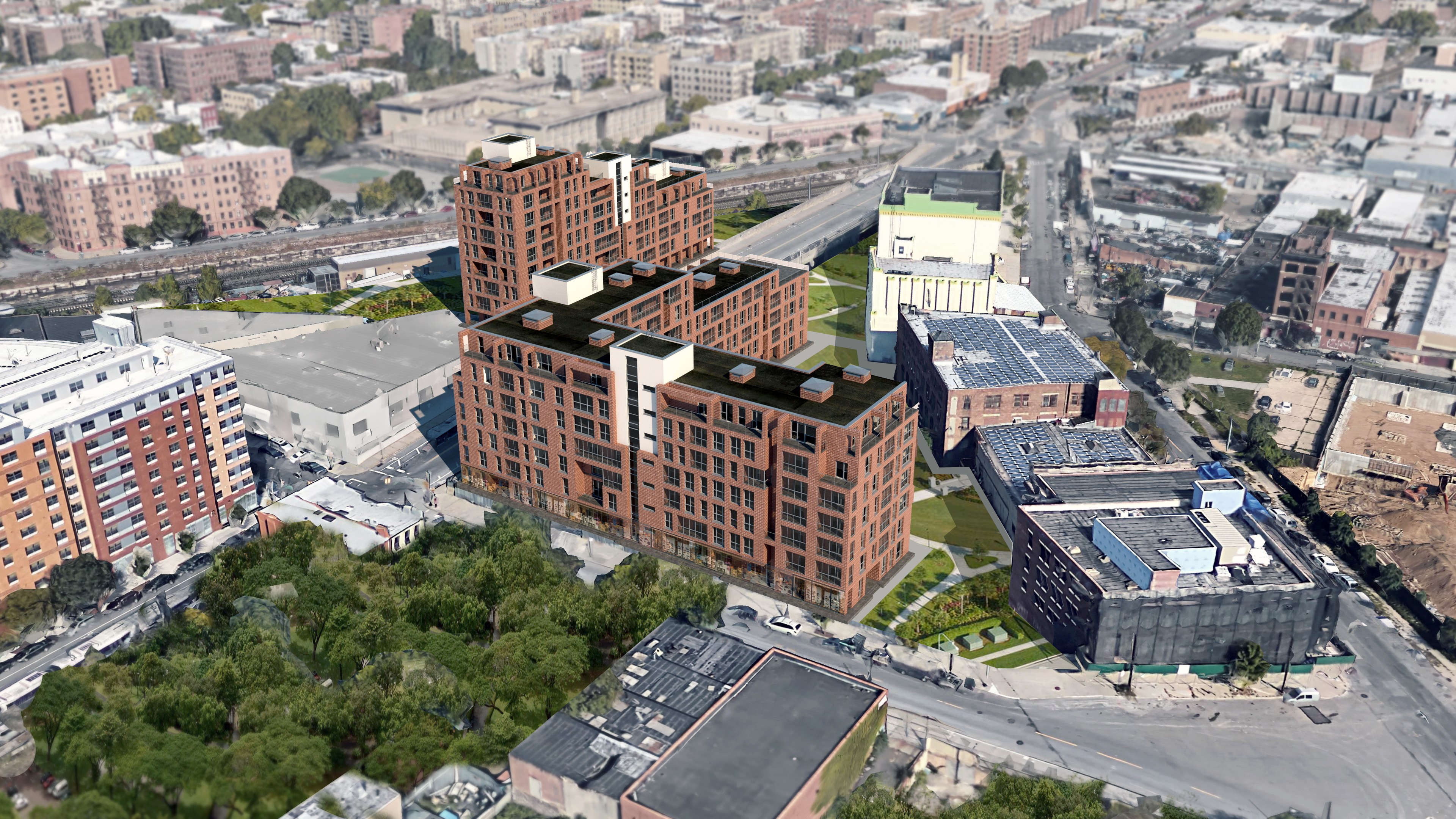 Building housing concepts in the Bronx