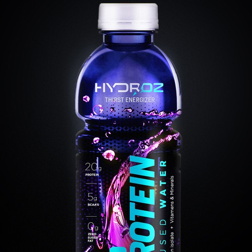 Hydroz Protein infused water