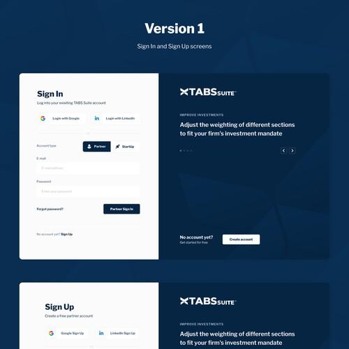 Login Pages concepts