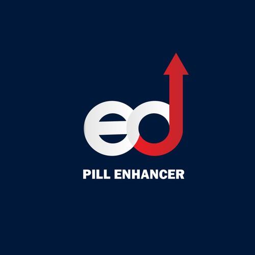 Wining Logo design for Ed pill enhancer