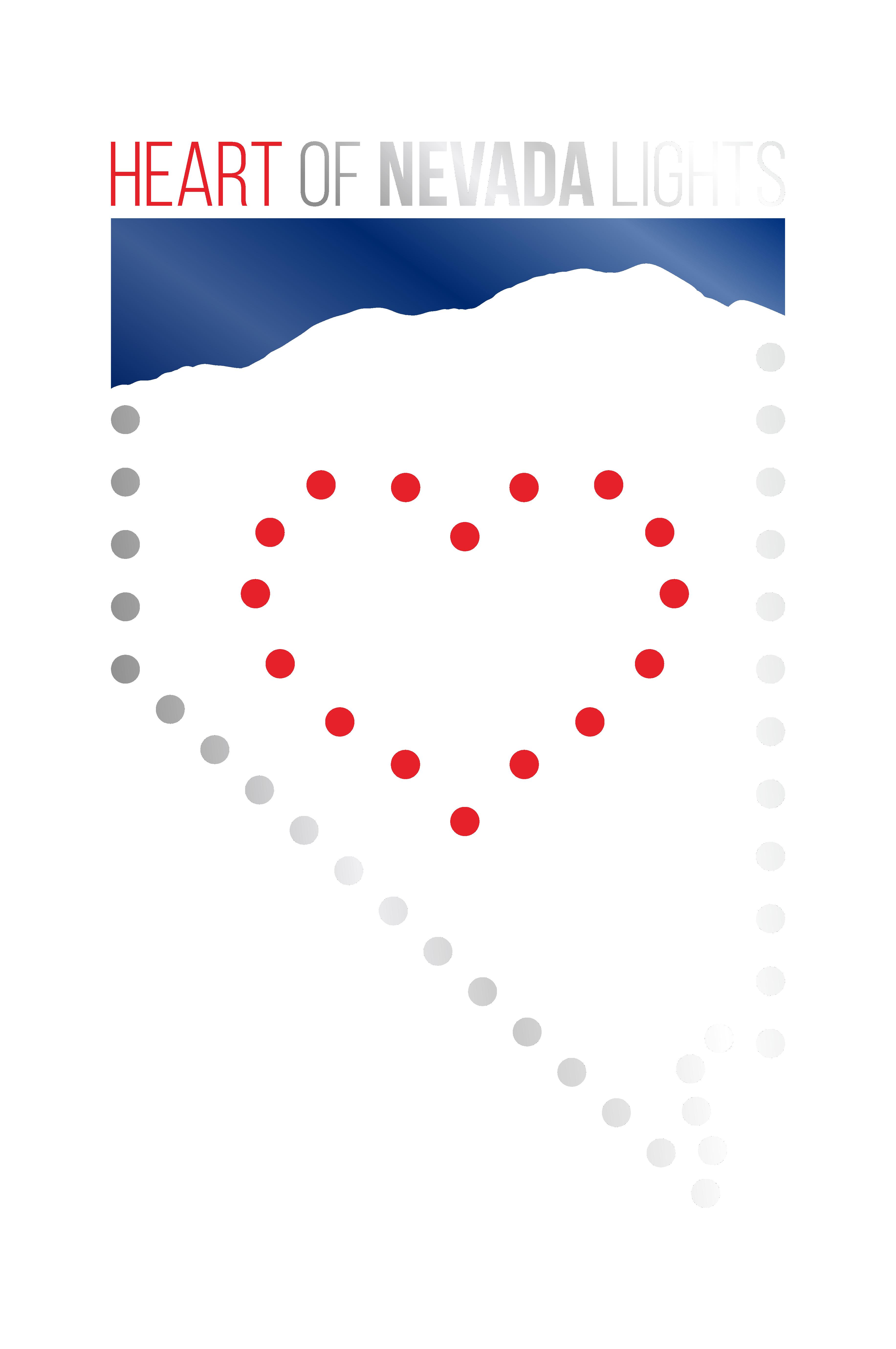 Heart of Nevada Lights