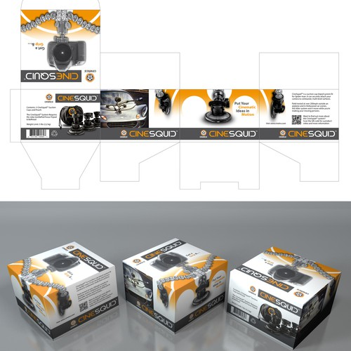 Cinesquid Packaging