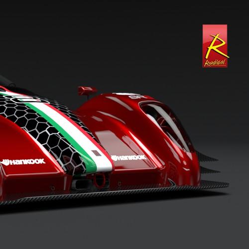 Radical SR3 RSX Livery