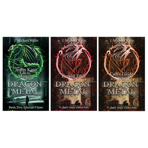 3 Book covers