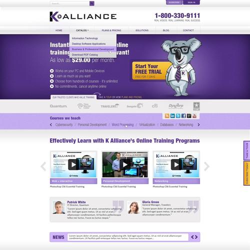 Website design wanted for K Alliance