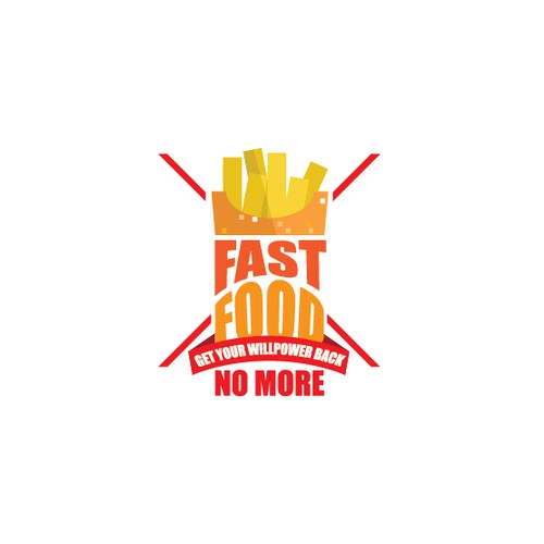 """Create a cutting edge logo for """"Fast Food No More"""""""