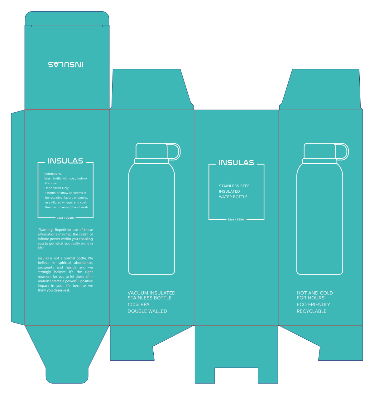 Packaging for a Vacuum Insulated Bottle