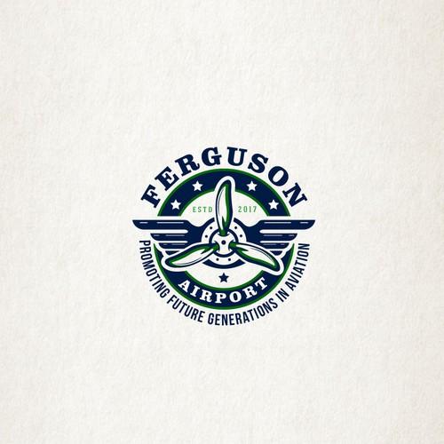 """Logo design for""""Ferguson Airport"""""""