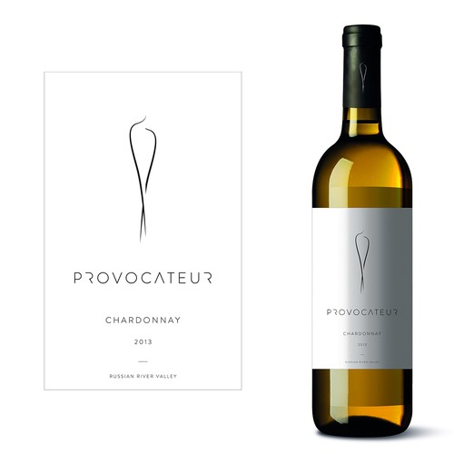 Create our new wine label Provocateur Wine