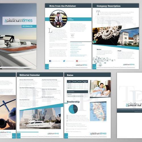 EASY Media Kit for Luxury Magazine EASY