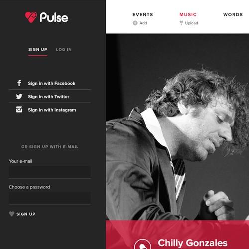 www.pulseradio.net needs a new landing page