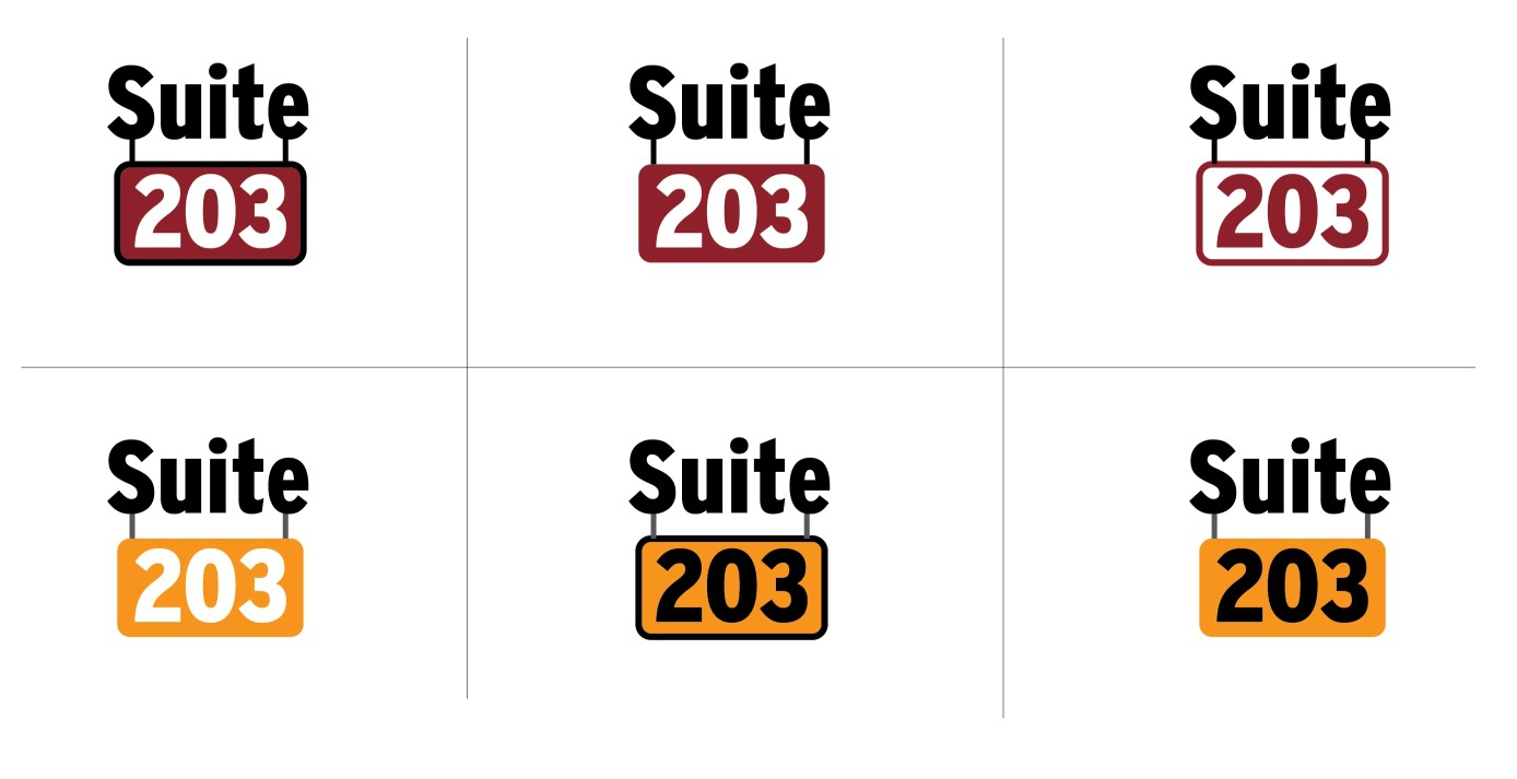 Create the next logo for Suite 203