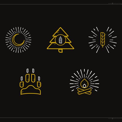 Minimalistic icons