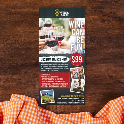 Winery Tours Leaflet