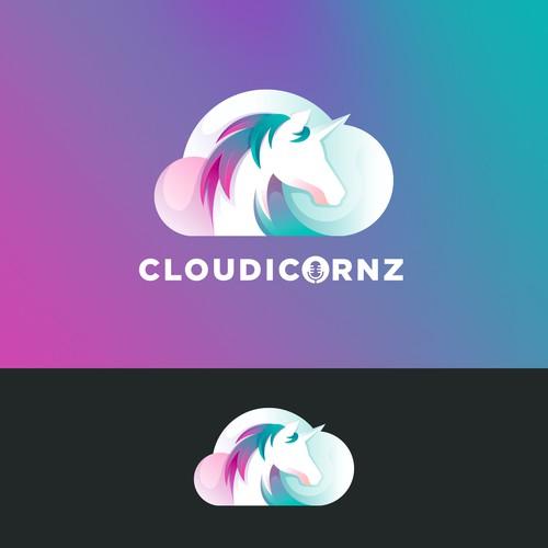 Unicorn Cloudy Logo