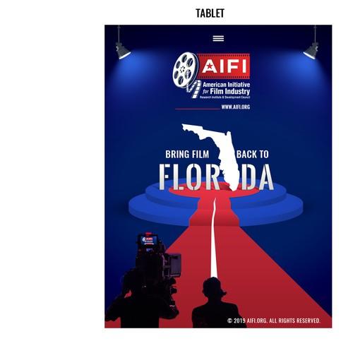 Movie and Media Website design template