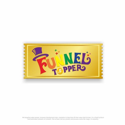 Funnel Topper Logo Design