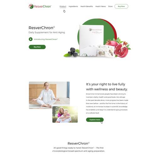 Resverchron Website Design
