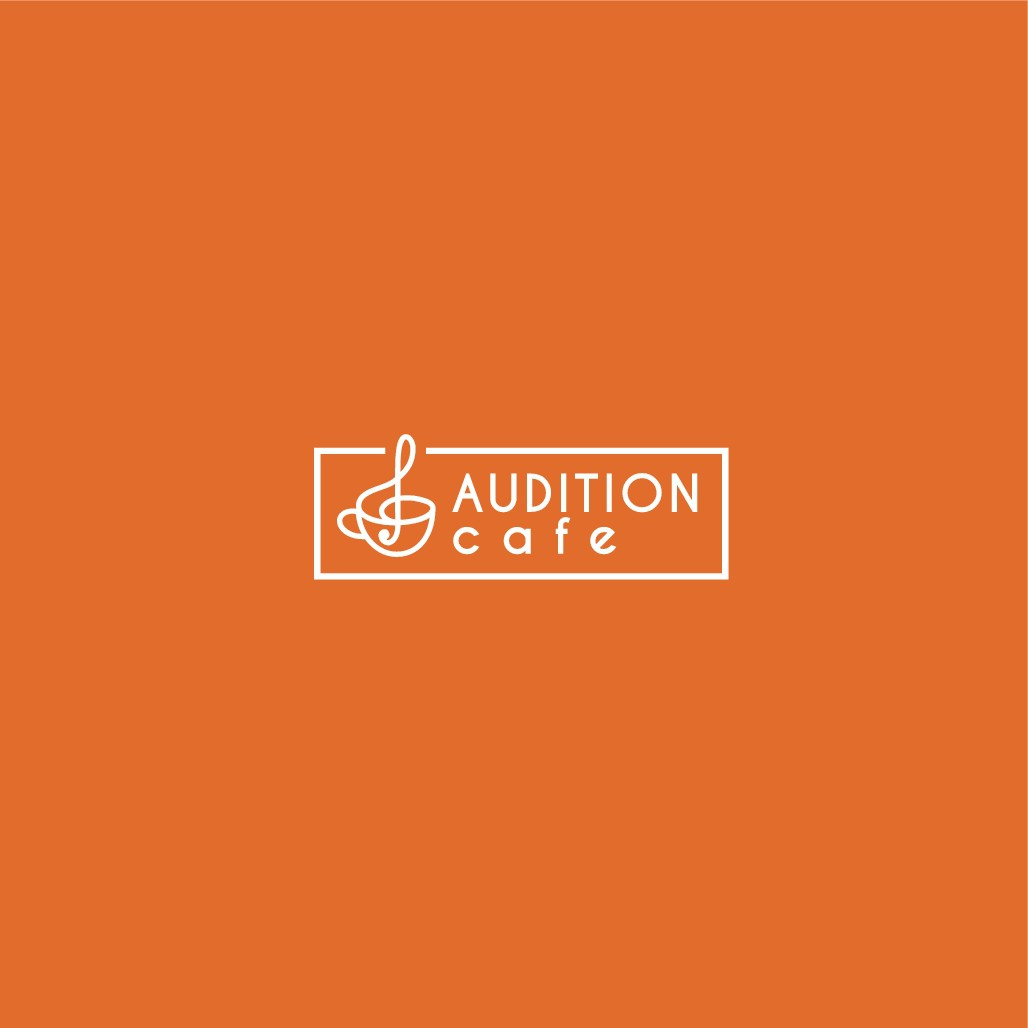 Design a playful, coffee themed logo for AuditionCafe.org