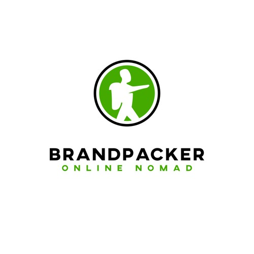 Bold logo concept for Brandpacker