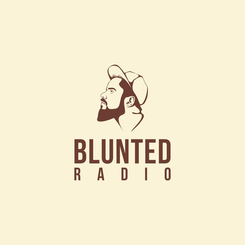 Logo for blunted radio