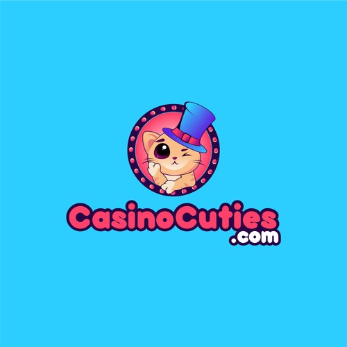 Create a fun modern brand design for Casino Cuties