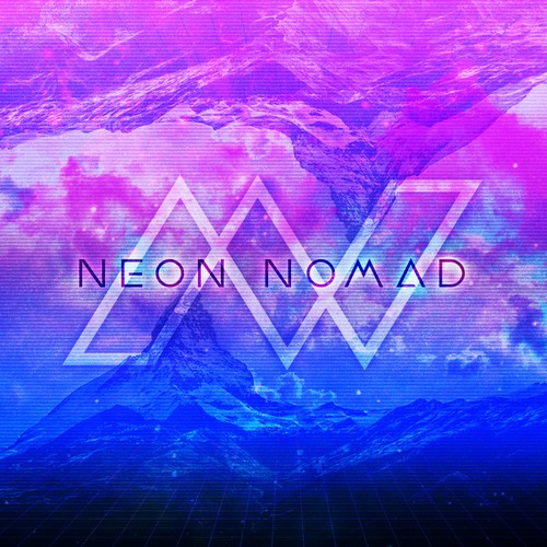 Logo Concept for Neon Nomad