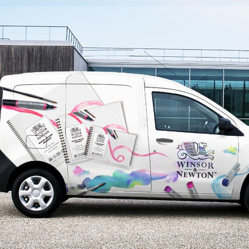 Car/Van Wrapping for  Art/Paint Company