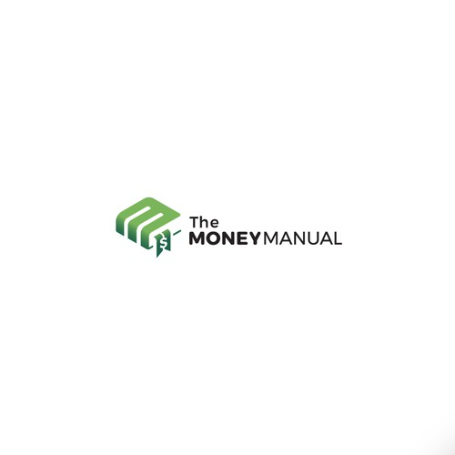 Logo concept for personal finance content site.