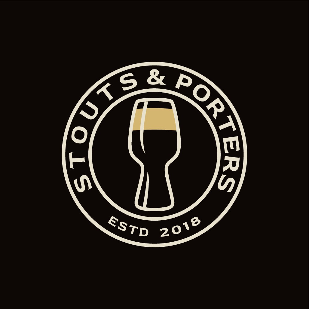Design a majestic logo for a beer blogger.
