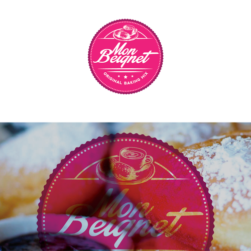 logo to depict a French inspired biscuit mix