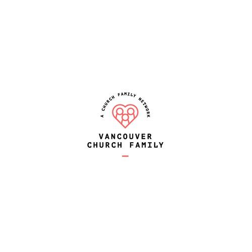 Vancouver Church Family - Logo design