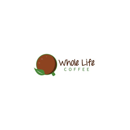 Whole Life Coffee Logo Designs