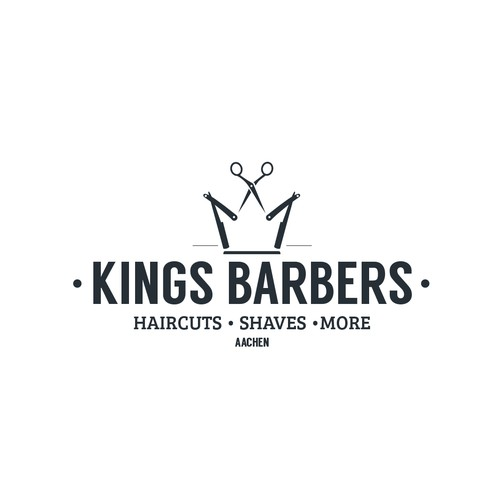 Logo for Kings Barbershop