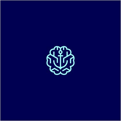brain + anchor monoline