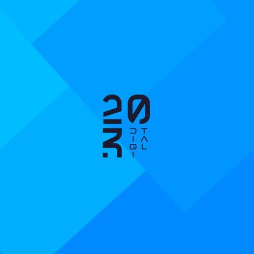 Minimal and modern Logo for 230 Digital