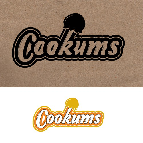 Logo concept for cookums