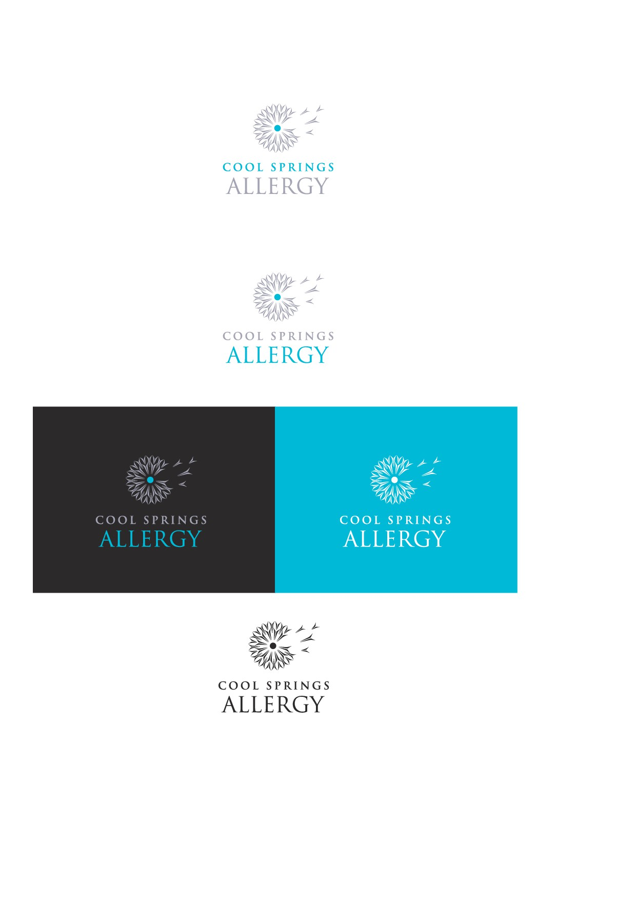 Blow us away with a new allergy office logo!!!!