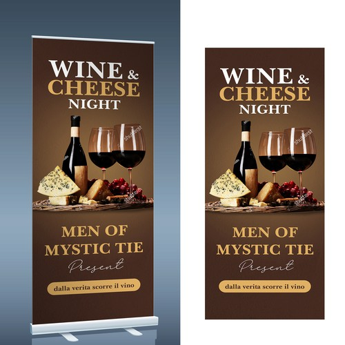 Men of Mystic Tie Lodge need help with poster design