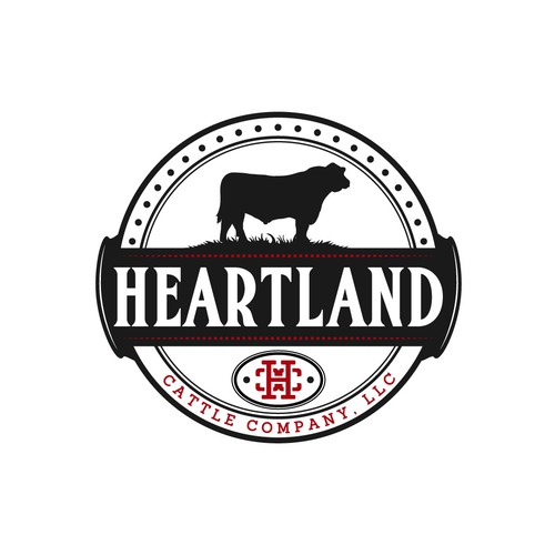 Logo for beef company.