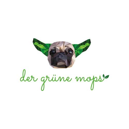 Logo Concept for the green pug