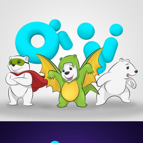 Mascot for children's streaming service