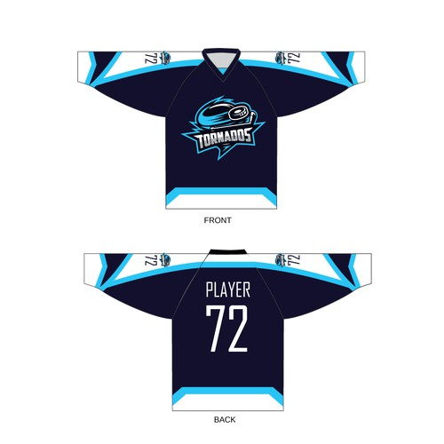 Jersey-Design for a ice hockey team