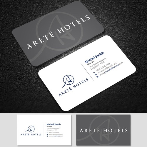 Business Card-Arete Hotel