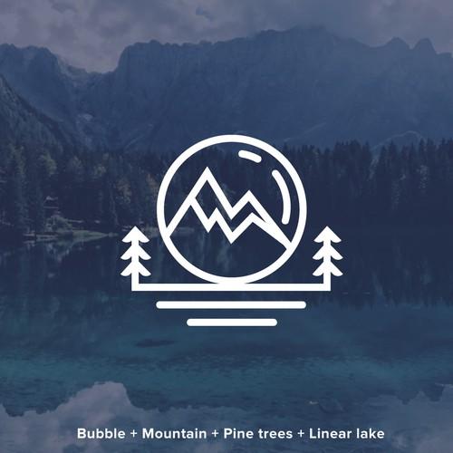 Bubble Mountain Logo