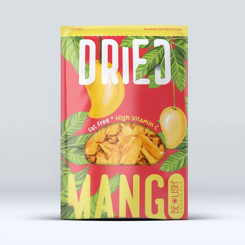 Dried Mango Packaging